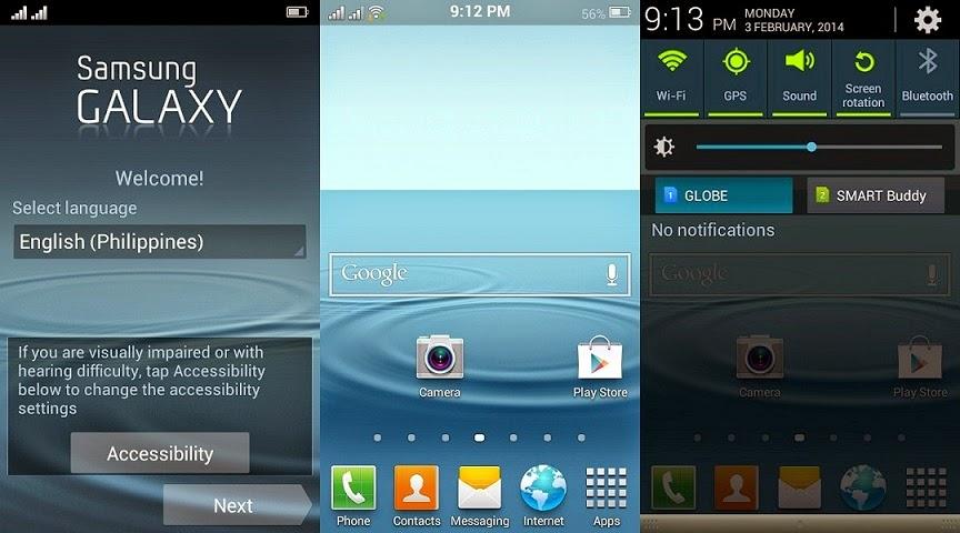 Cara Memindahkan Icon Sinyal Pada Status Bar Android ke Kiri