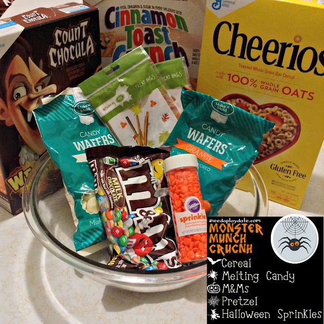 Monster Munch Crunch Cereal Party Mix Ingredients