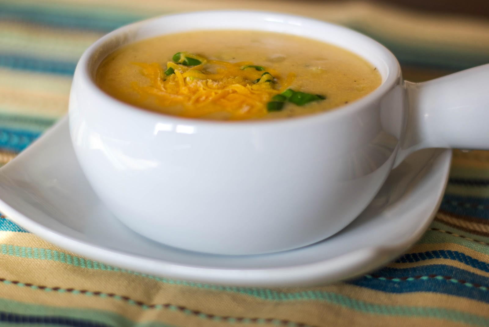 Baked Potato Soup With Bacon, Onion & Cheddar Recipes — Dishmaps