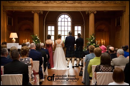 Alasdair Fraser Photography Dumfries House Wedding