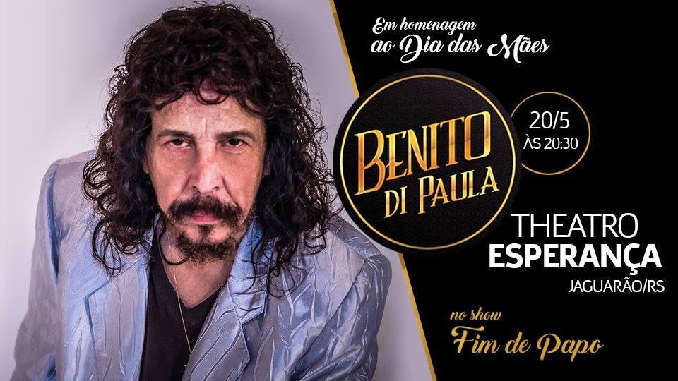 Fim de Papo com Benito Di Paula em Jaguarão/RS