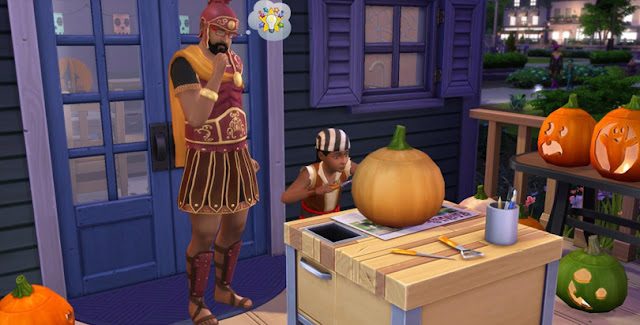 the sims 4 spooky stuff pack