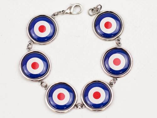 Mod Target Bracelet by Love Boutique