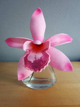 Orquídeas de goma eva