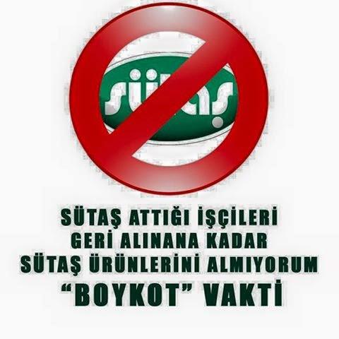 Boykot ediyorum...