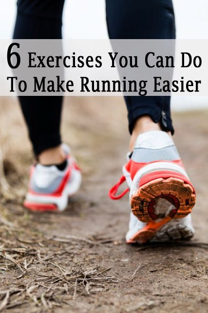 5 Exercises You Can Do To Make Running Easier