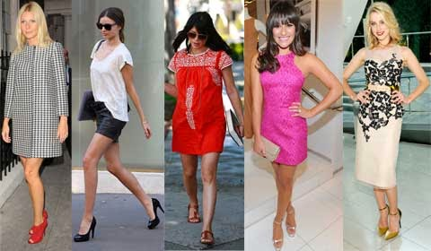 Celebrity Clothing Style and Shoes