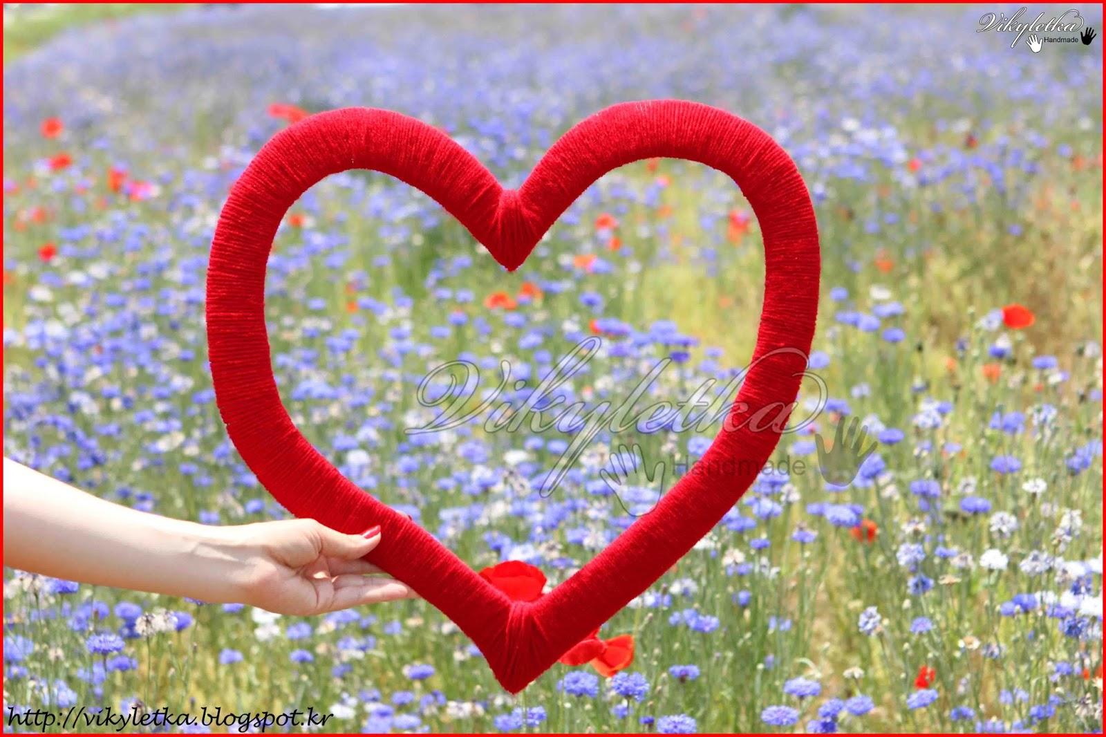 Рамка сердечко для фото своими руками из