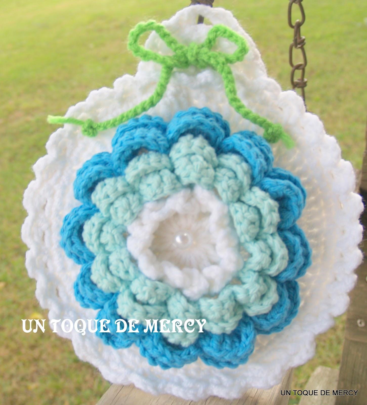 Set De Baño En Crochet Con Una Aguja:Un Toque De Mercy Accesorios Para Nino