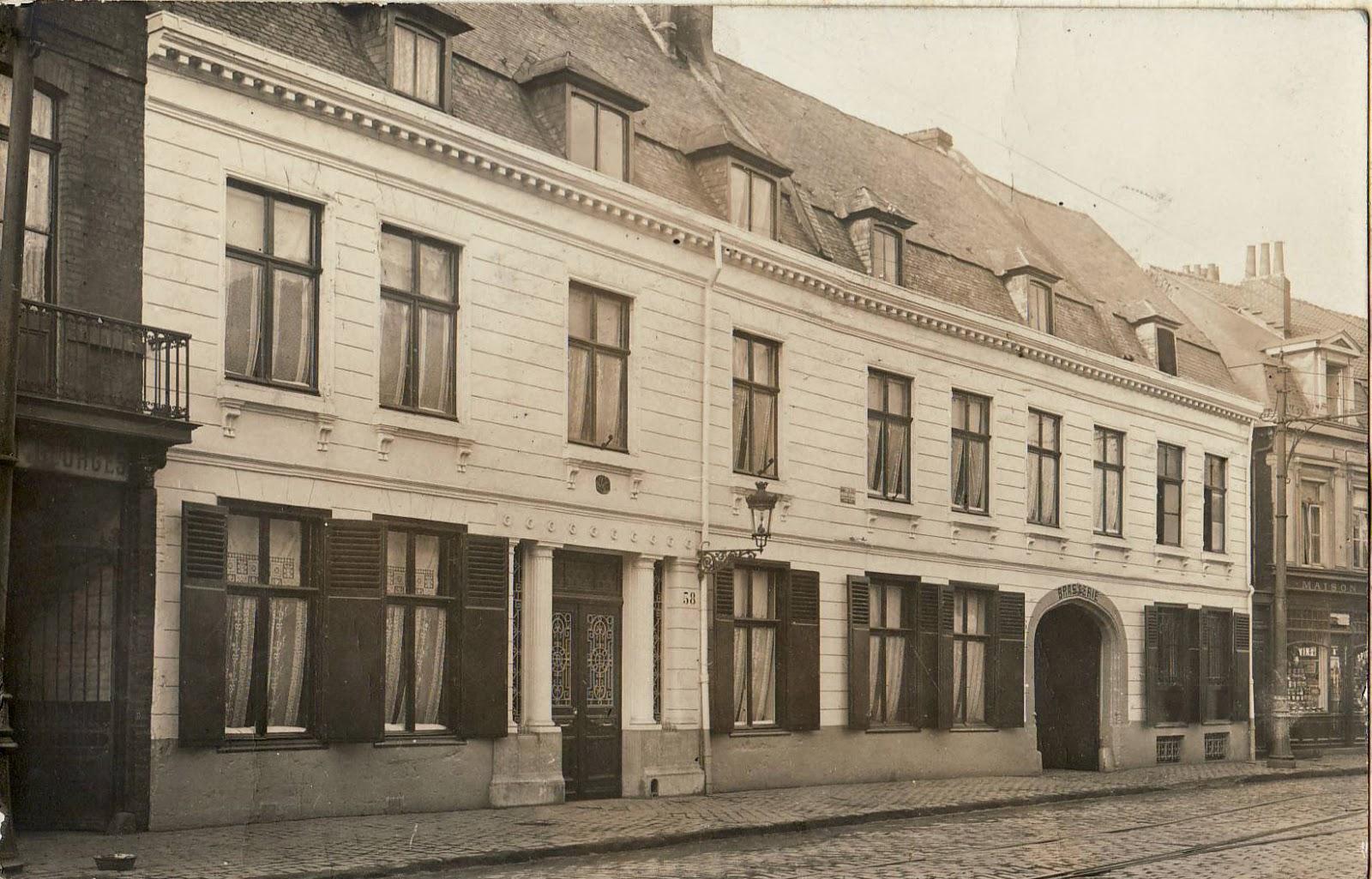 Histoires et familles du nord for 82 rue brule maison lille