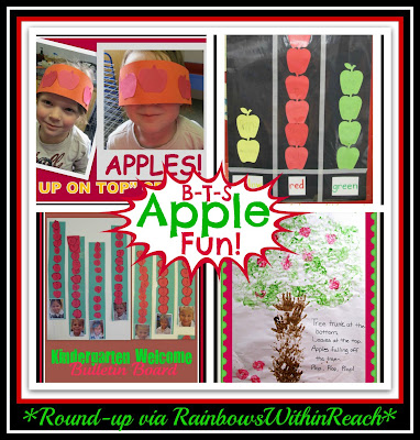 Apple Projects for Back to School (Preschool thru Kindergarten)
