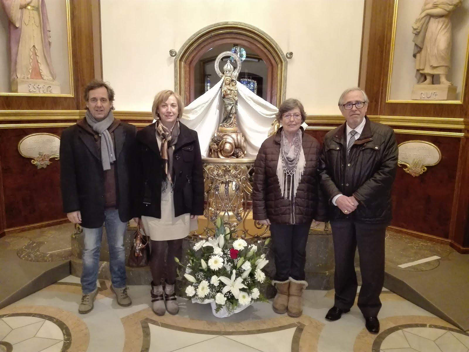 Peregrinació anual al Santuari de l'Associació de Concerts de Reus (26-11-2017)