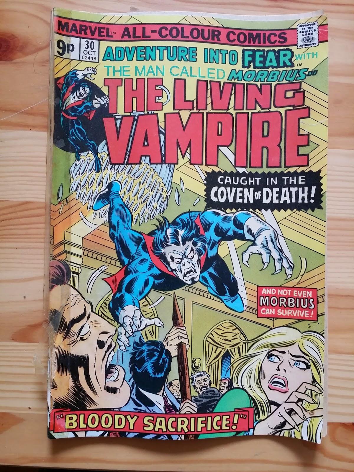 Marvel The Living Vampire