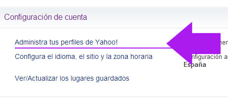 how to create an alias email in yahoo
