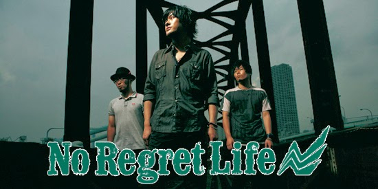 Band jepang terbaik No regret life