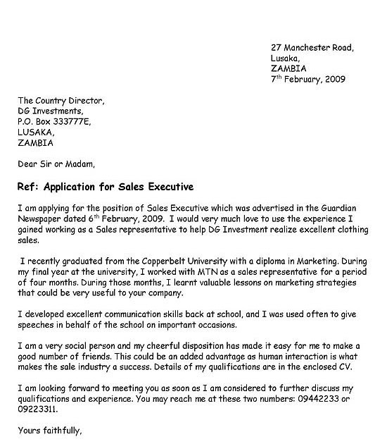 vacancies sle application letter fix yes