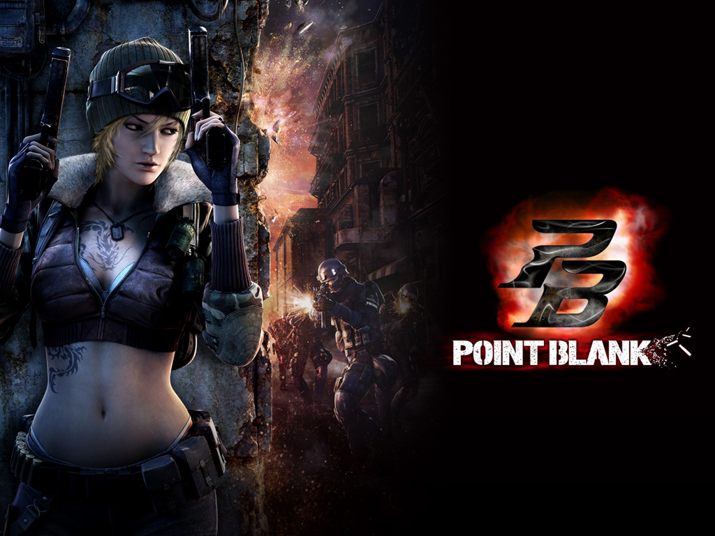 Point Blank - PB Wallpaper ART