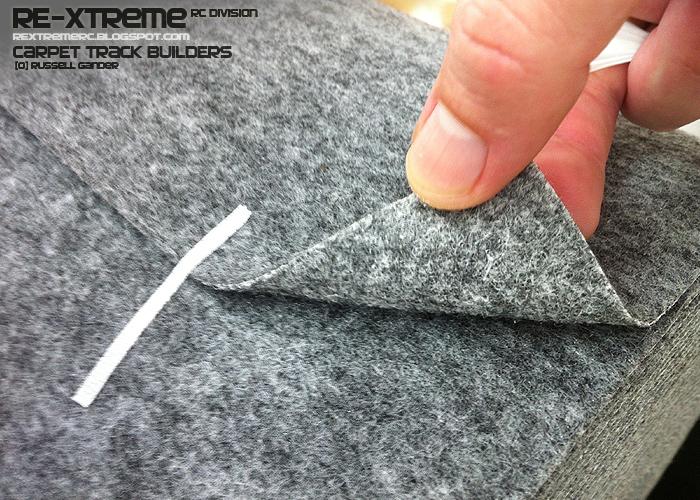 RE Xtreme RC Carpet Track Building