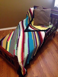 C2C Granny Stitch Throw by ShopKimberlie