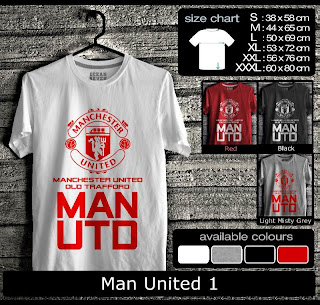 Jual baju distro man united