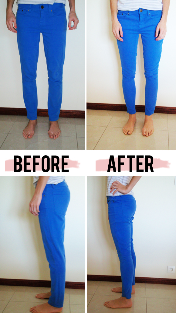 How to know if skinny jeans fit