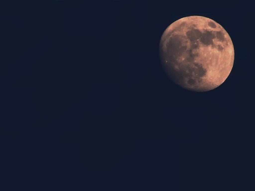 Full Moon at Night Wallpaper