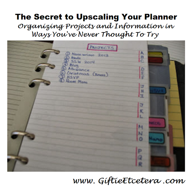 planner, projects, project management, project management in a planner