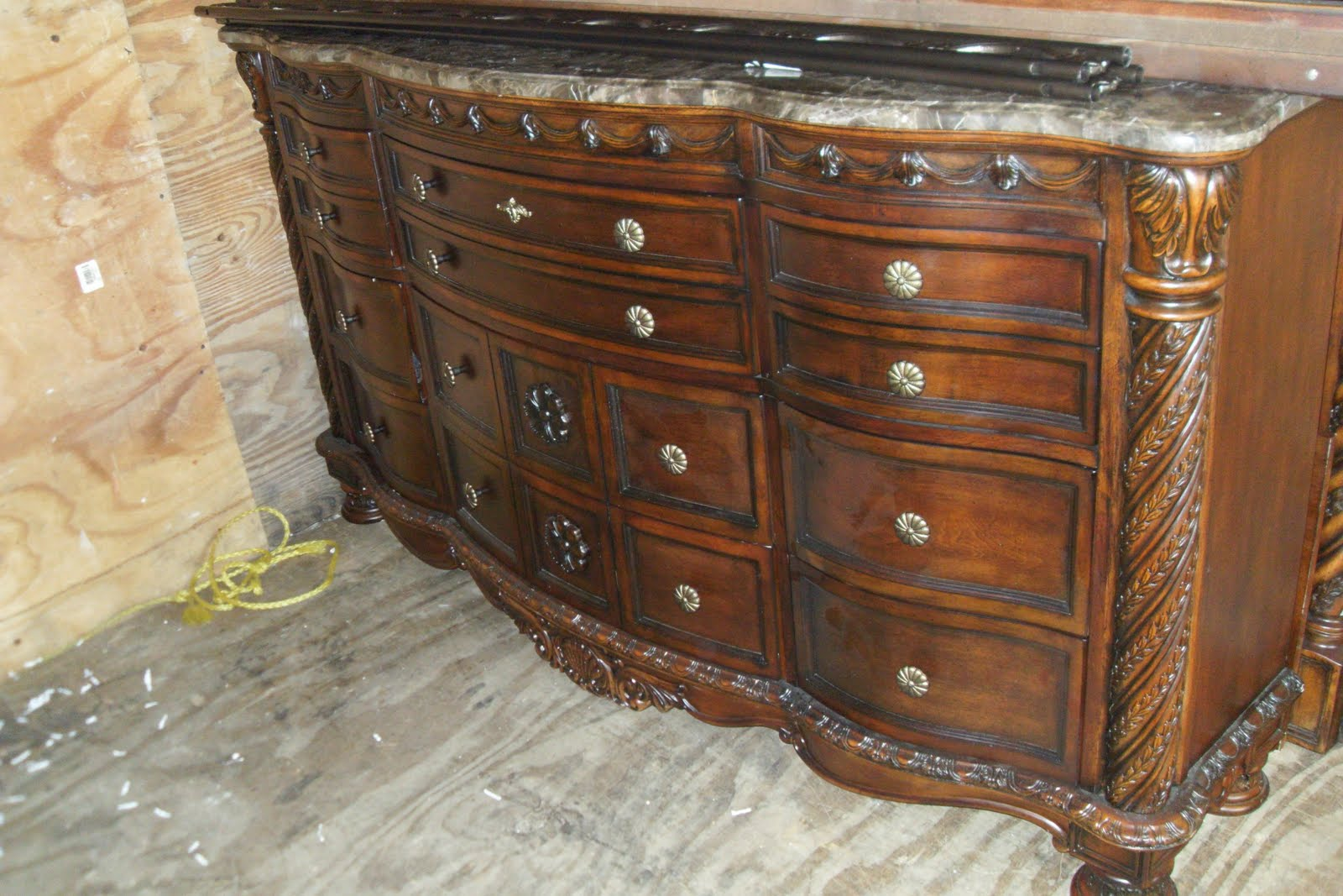 gmasthriftshop: SOLD:::::::North Shore King/Cal King Bedroom Set