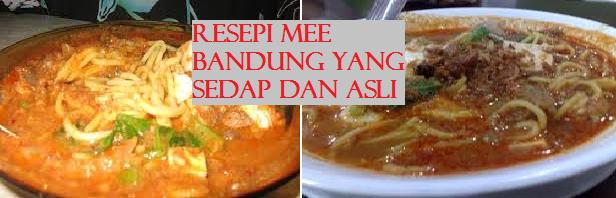 Resepi Mee Bandung Muar