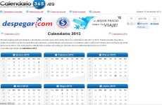 Calendario 2013 online: Calendario-365.es