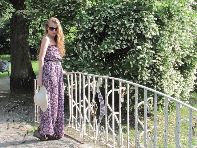 letnia sukienka do kostek
