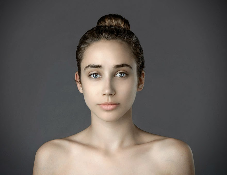 BULGARIA - Woman Had Her Face Photoshopped In More Than 25 Countries To Compare Their Beauty Standards
