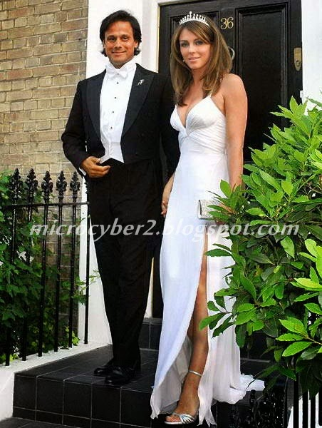 Elizabeth Hurley dan Arun Nayar