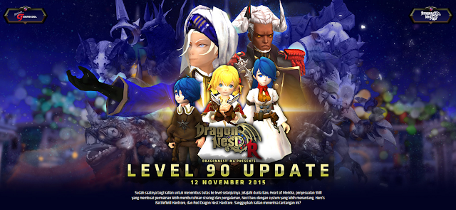 Dragon Nest Indonesia Update Cap Level 90