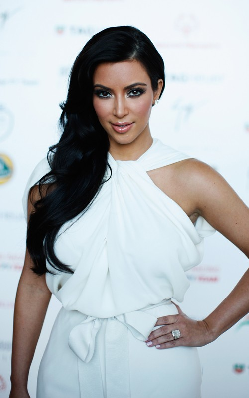 kim kardashian and kris humphries. Kim Kardashian Fashion, Celeb