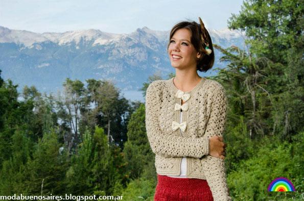 De las Bolivianas invierno 2013 moda tejidos