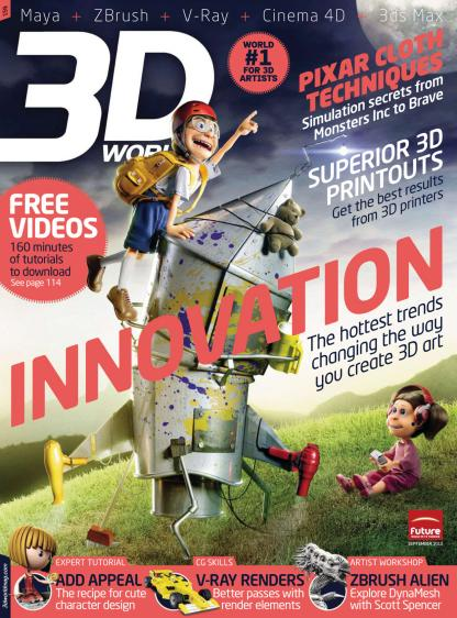 3D World - September 2012 (UK)