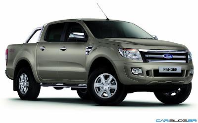 Nova Ford Ranger 2013 XLT Limited 3.2 Diesel - dourada