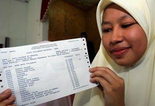 Siti Fatimah Mukhtar, Salah Seorang Contoh Pelajar Cemerlang !