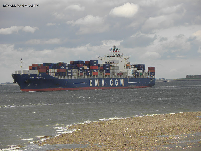 Warshipsresearch french container ship cma cgm coral 2008 - Cma cgm france head office ...