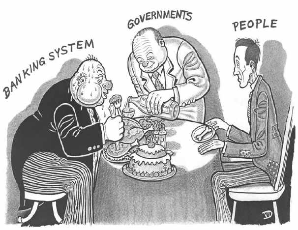 Pretenden imponer el chip obligatorio para Perros en Malaga ¿Seremos nosotros los siguientes? Banking-system-governments-people-755962