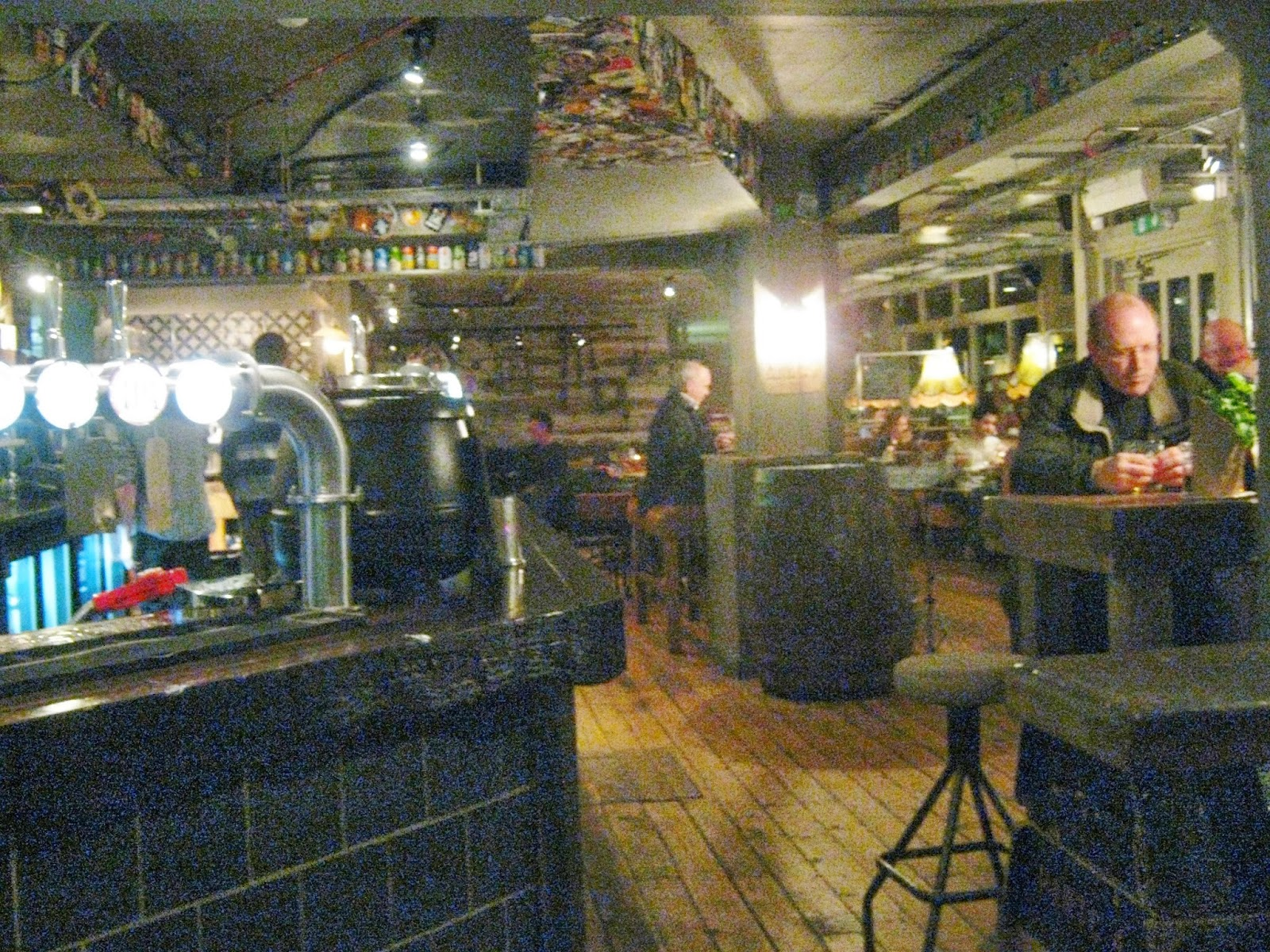 The Brew House interior - bar and dining area