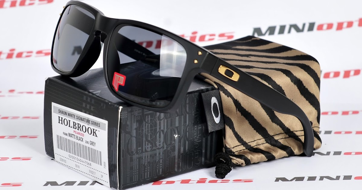 1237efba53 Oakley Shaun White Signature Series Holbrook Sunglasses