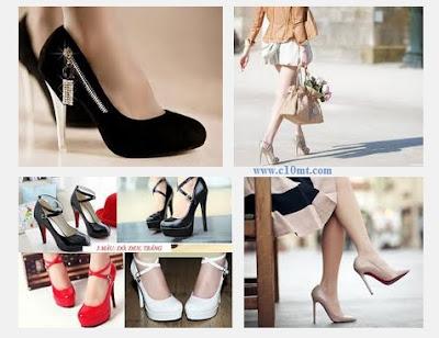 Sáu bí quyết giảm đau chân khi giày cao gót