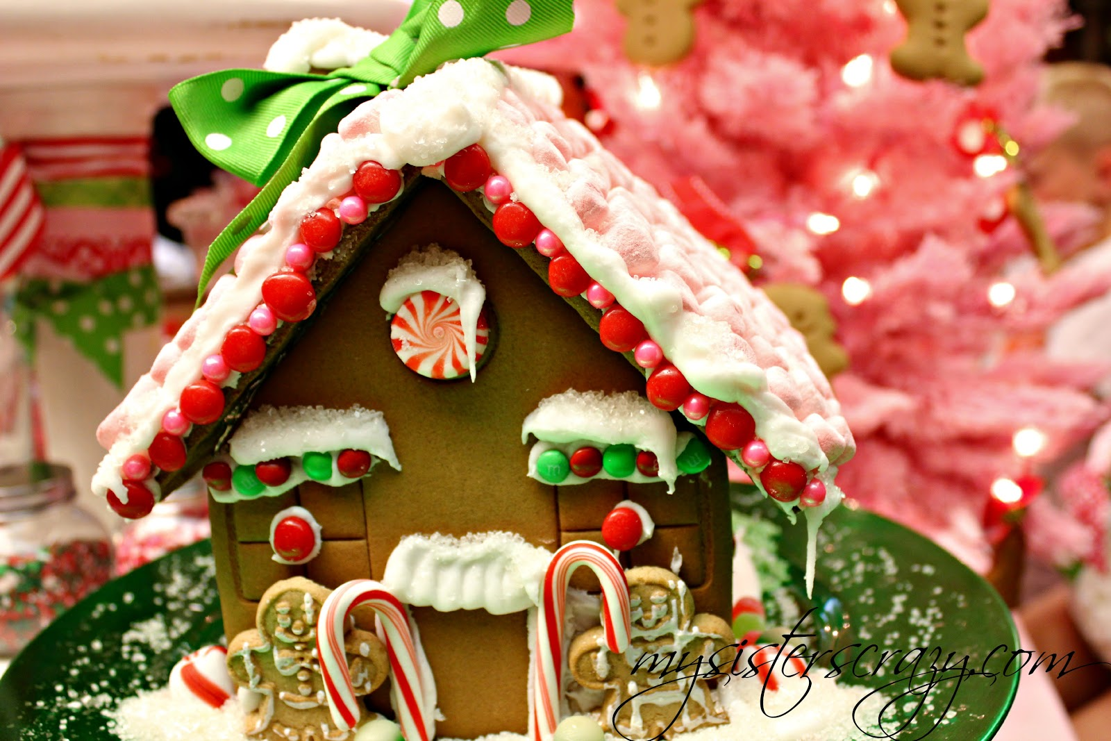 Decorated House Cookies Decorating Their House