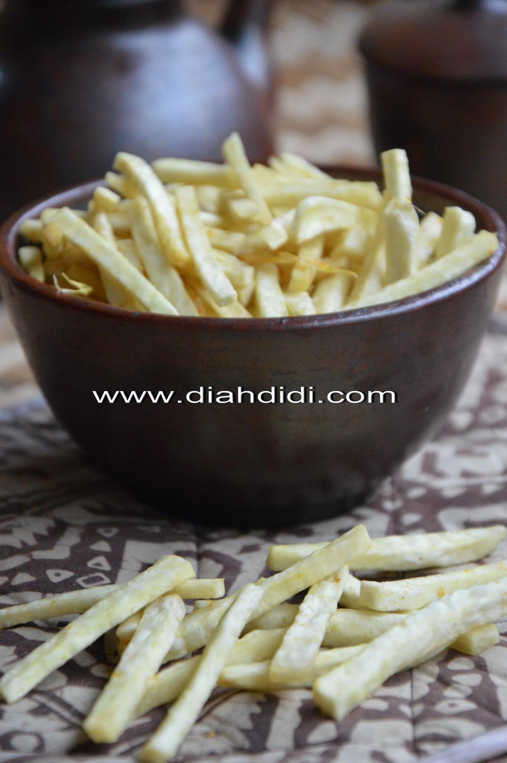 Diah Didi S Kitchen Stik Talas Renyah