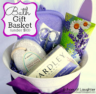 Bath Gift Basket For Under $10 +Free PrintableTag