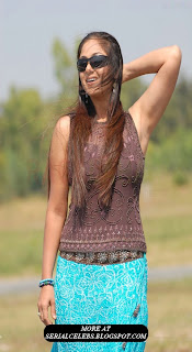 Simran Armpits showing