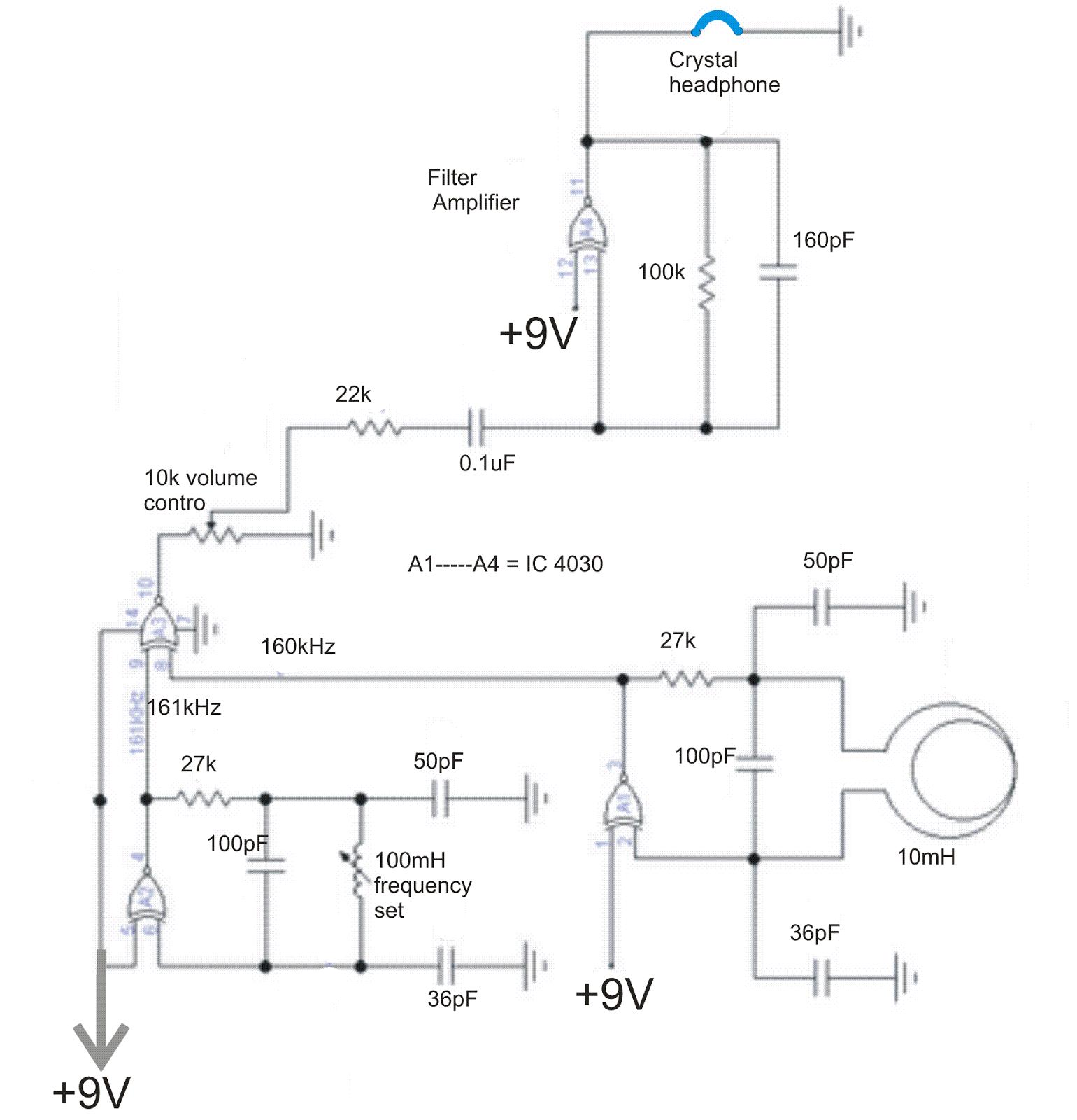 Oneshot Timer Circuit Diagram Tradeoficcom Data Wiring Turn Signal Alarm Tone Detector Www Topsimages Com
