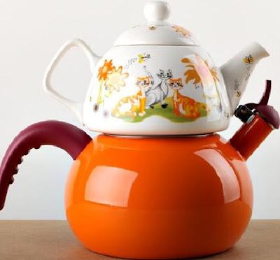 Porselen Demlik Emaye Çaydanlık Modelleri